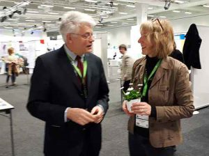 Prof. Wiegel und Anne Wispler
