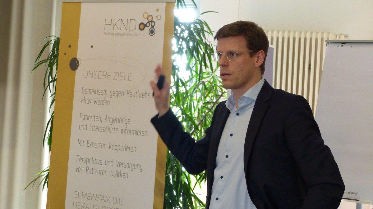 Dr. Karsten Weißhaupt über die Therapie des Malignen Melanoms